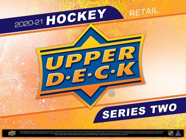 2020-21 Upper Deck Series 1 Retail Hockey