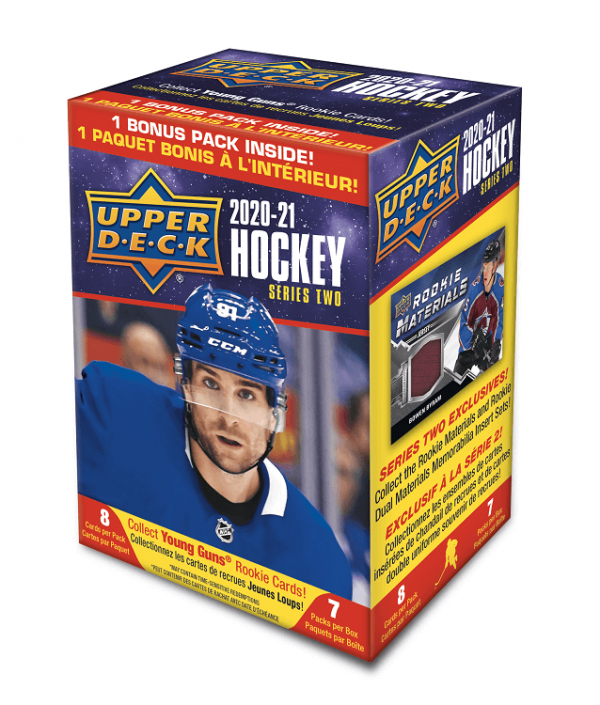 2020-21 Upper Deck Series 2 Hockey Blaster Box