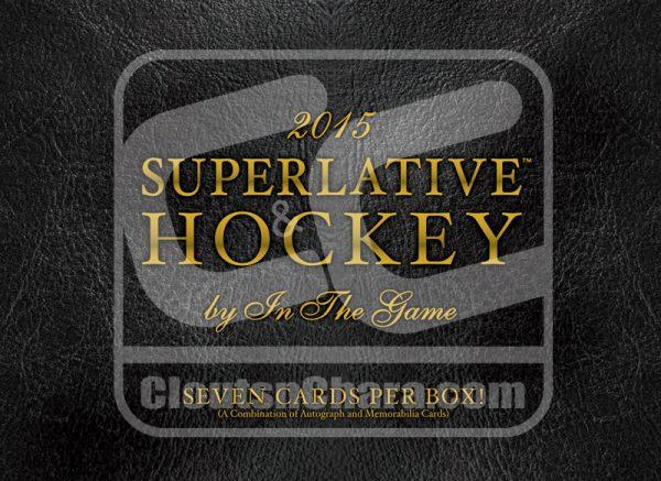 2015-16 Leaf Superlative Hockey Hobby Box