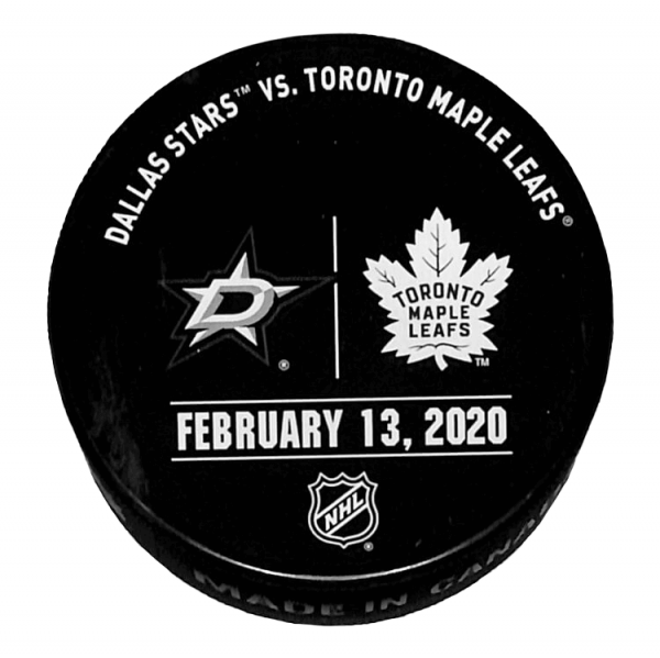 Stars vs Leafs Puck - February 13, 2020