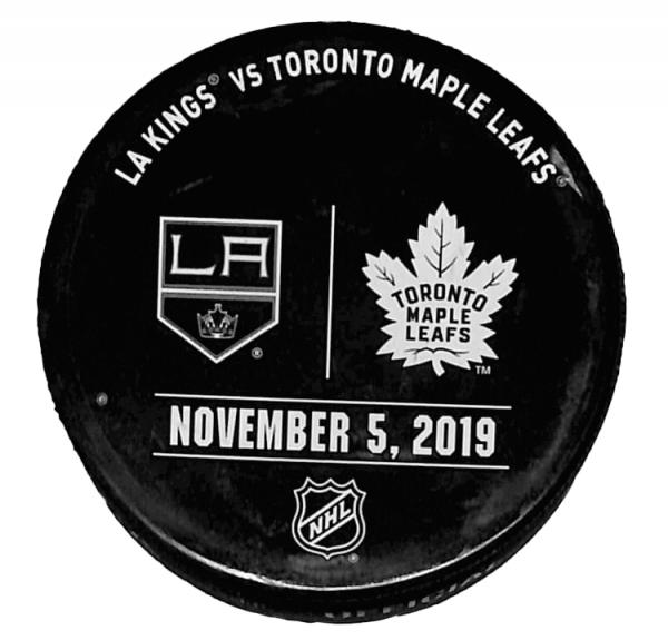 Kings vs Leafs Puck - November 5, 2019