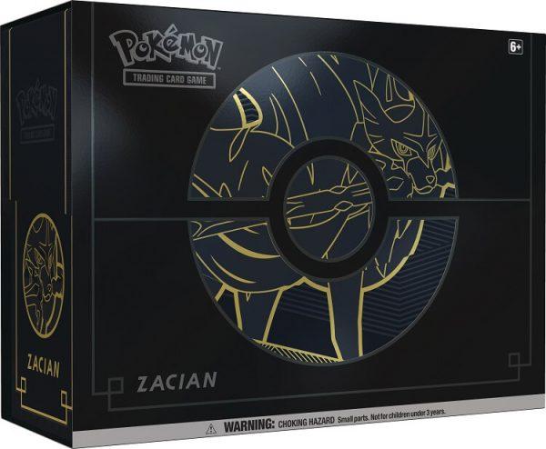Pokemon Sword And Shield Elite Trainer Box Plus - Zacian