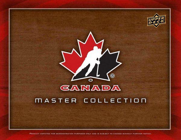 2015-16 Upper Deck Team Canada Master Collection Hockey Hobby Box