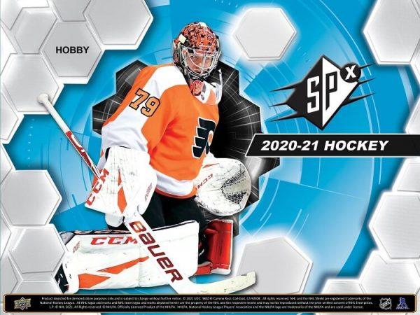 2020-21 Upper Deck SPx Hockey