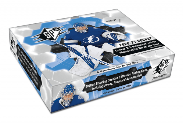 2020-21 Upper Deck SPx Hockey Hobby Box