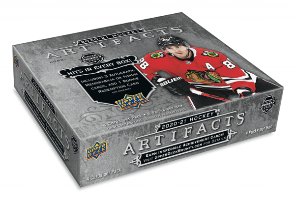 2020-21 Upper Deck Artifacts Hockey Hobby Box