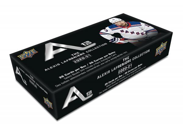 2020-21 Upper Deck Alexis Lafreniere Collection Hockey Box
