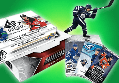 Hockey boxes, packs, figures, and more!