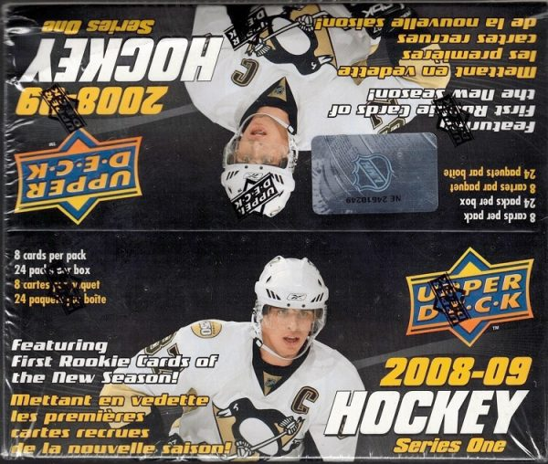 2008-09 Upper Deck Series 1 Retail Hockey Box