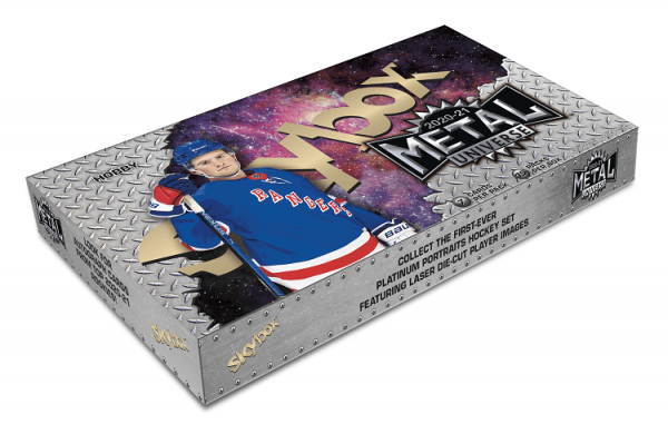 2020-21 Upper Deck Skybox Metal Universe Hockey Hobby Box