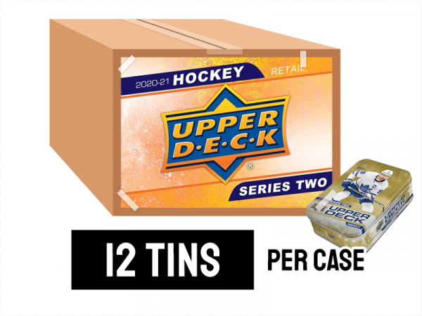 2020-21 Series 2 Retail Tin Case - 12 tins per case