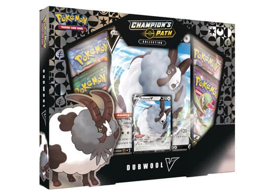 Pokemon Champion's Path Dubwool V Collection