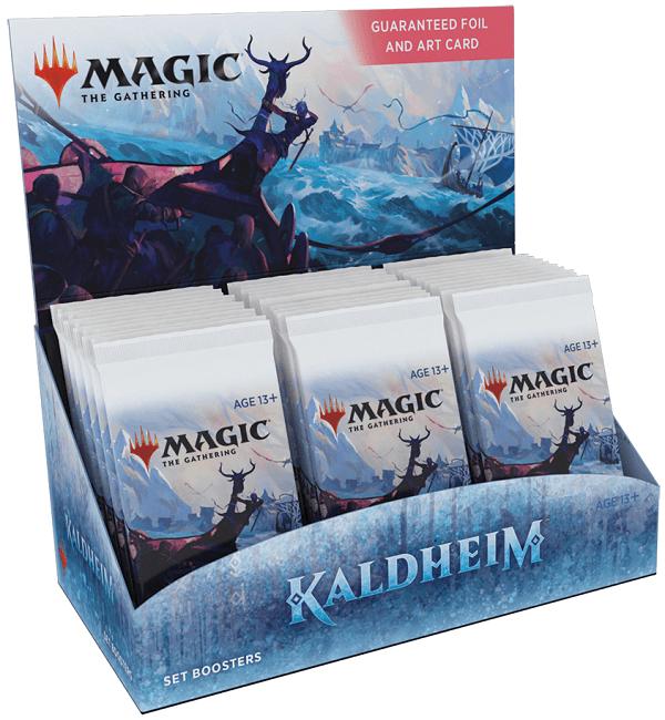 Magic The Gathering Kaldheim Sealed Set Booster Box