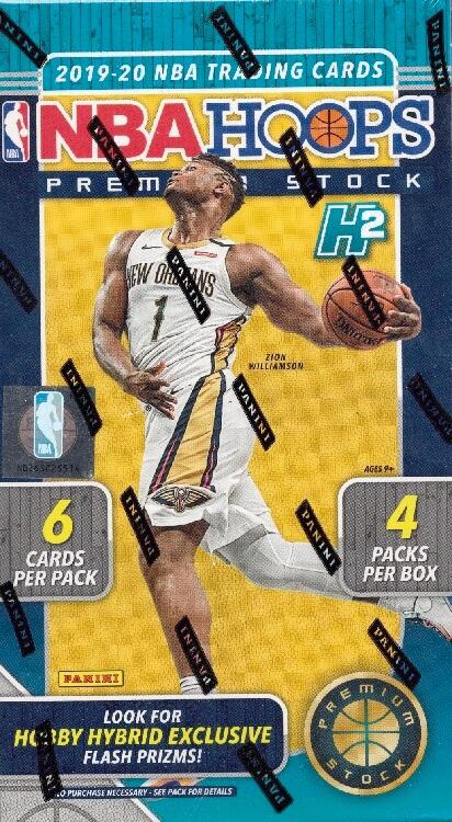 2019-20 Panini Hoops Basketball Premium Stock Box
