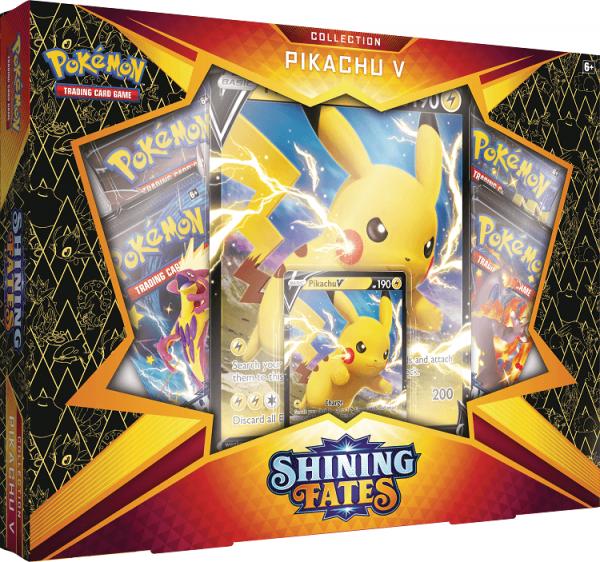 Pokemon Shining Fates Pikachu V Collection Box