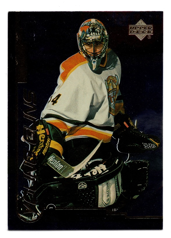 1999-00 UD Gold Reserve Young Guns Roberto Luongo #163