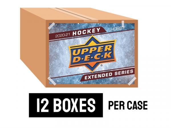 2020-21 Upper Deck Extended Hockey Hobby Case (12 Boxes)