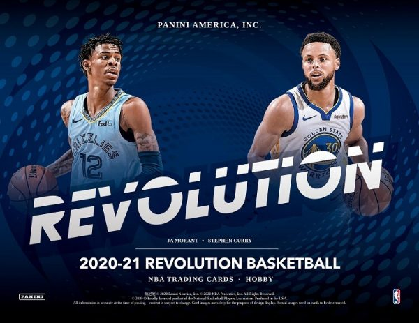 2020-21 Panini Revolution Hobby Basketball