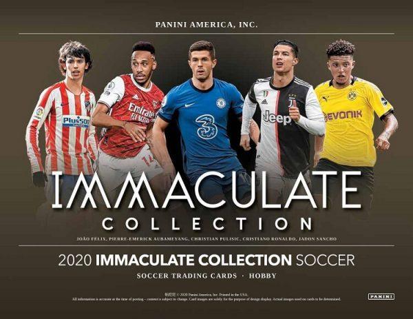 2020 Panini Immaculate Hobby Soccer