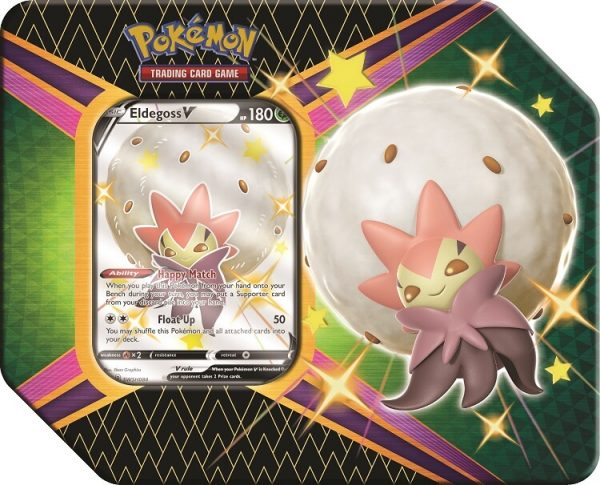 Pokemon Shining Fates Eldegoss V Tin
