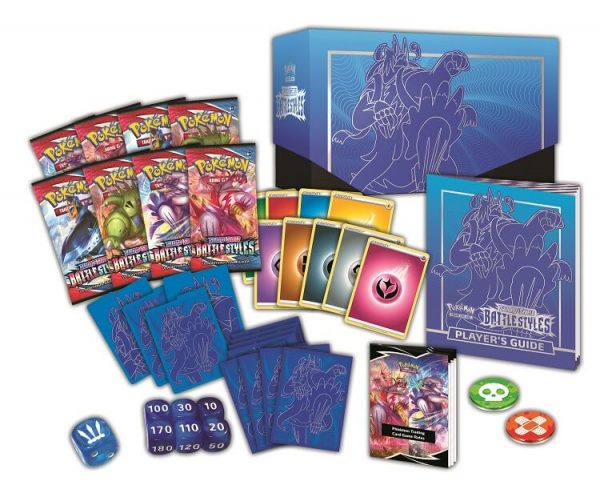 Pokemon Sword & Shield Battle Styles Rapid Strike Urshifu Elite Trainer Box