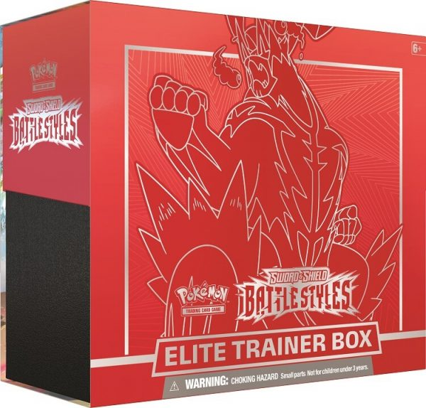 Pokemon Sword & Shield Battle Styles Single Strike Urshifu Elite Trainer Box