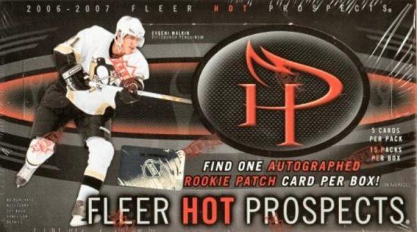 2006-07 Upper Deck Fleer Hot Prospects Hockey Hobby Box