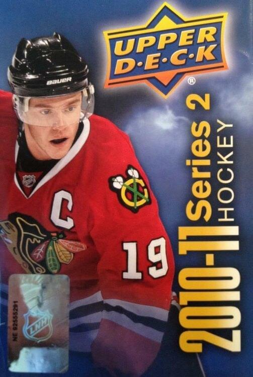 2010-11 Upper Deck Series 2 Hockey Blaster Box