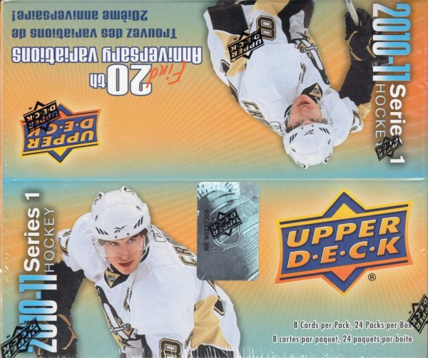 2010-11 Upper Deck Series 1 Hockey Retail Box
