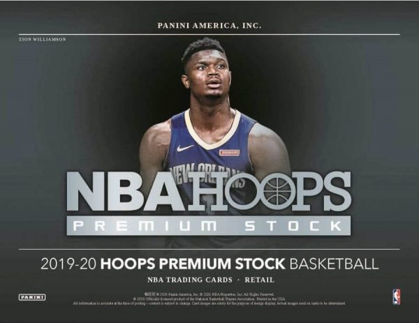 2019-20 Panini Hoops Premium Stock Basketball Blaster Box