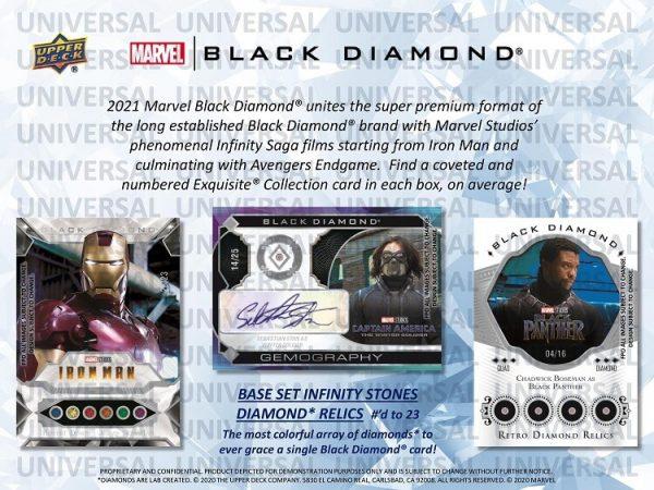 2021 Upper Deck Marvel Black Diamond Hobby Box