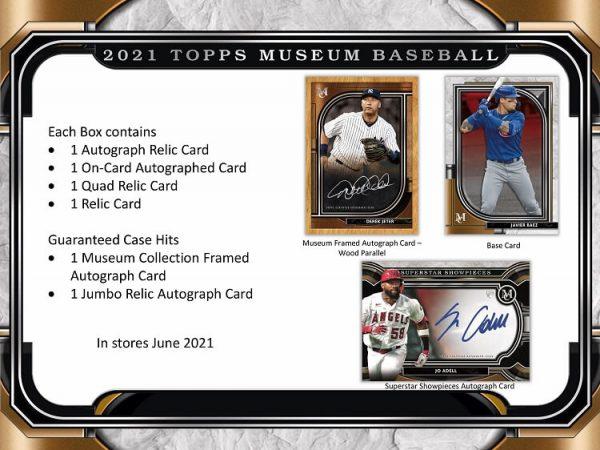 2021 Topps Museum Collection Hobby Baseball