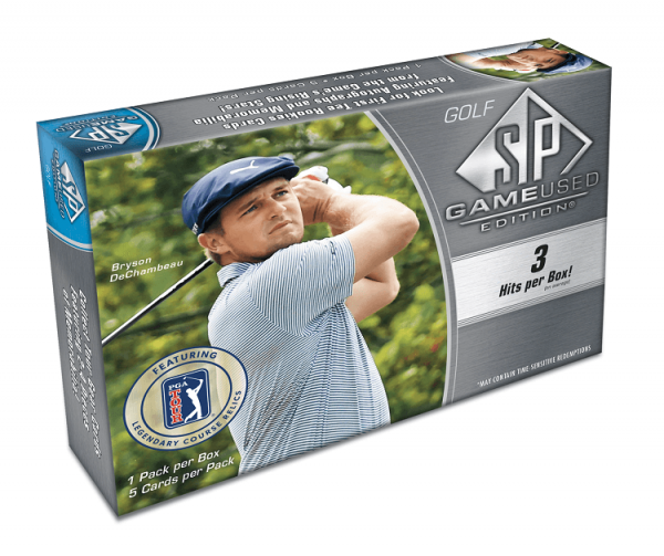 2021 Upper Deck SP Game Used Hobby Golf Box