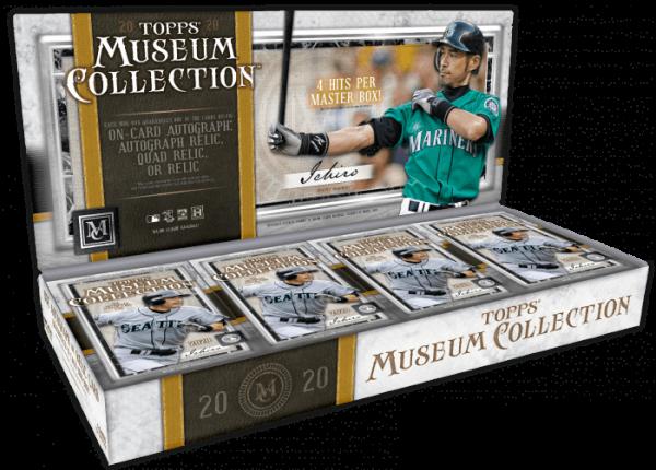 2020 Topps Museum Collection Hobby Baseball Box
