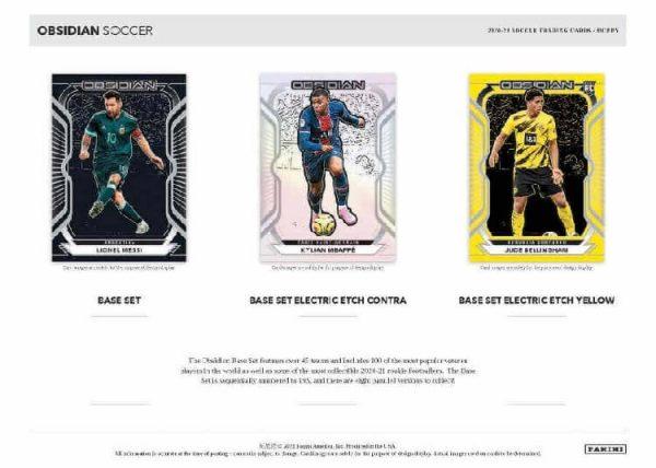 2020-21 Panini Obsidian Soccer