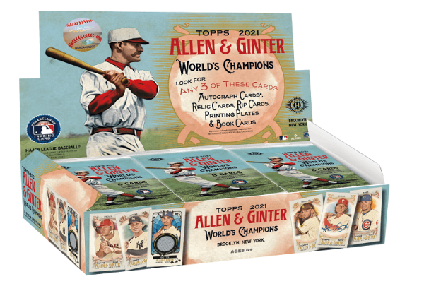 2021 Topps Allen & Ginter Hobby Baseball Box