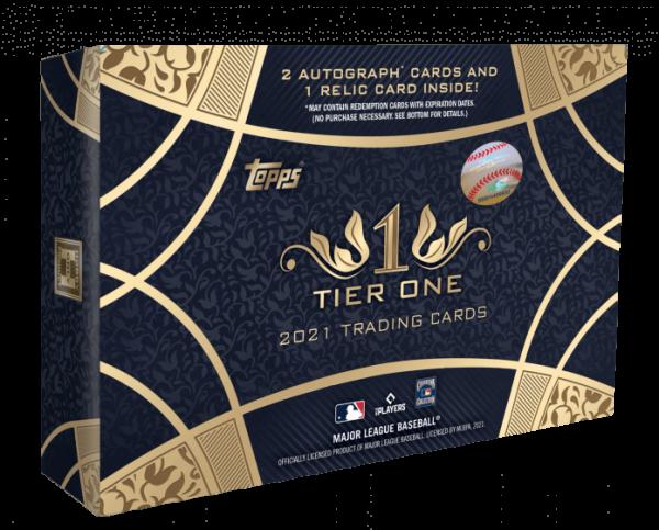 2021 Topps Tier One Hobby Baseball Box