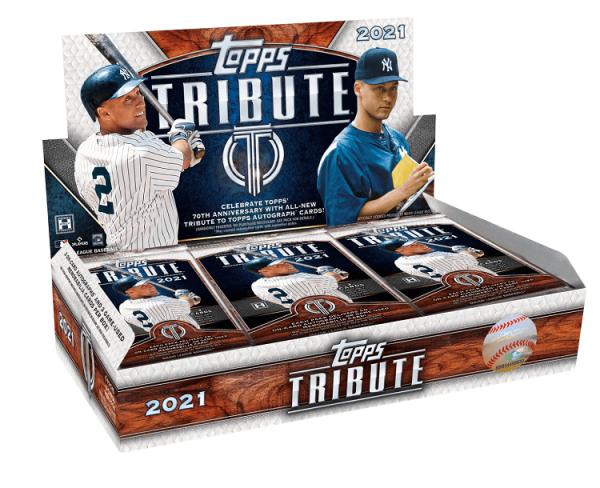 2021 Topps Tribute Hobby Baseball Box