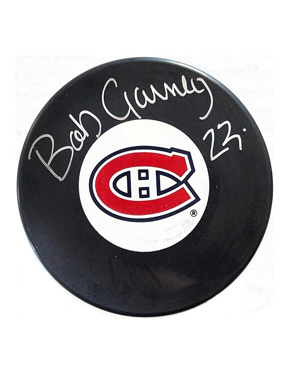 Bob Gainey Autographed Puck Montreal Canadiens