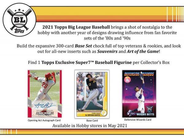 2021 Topps Big League Hobby Collector Baseball Box
