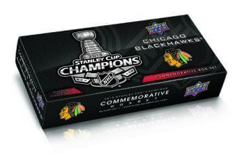 2013 UD Chicago Blackhawks Stanley Cup Box Set