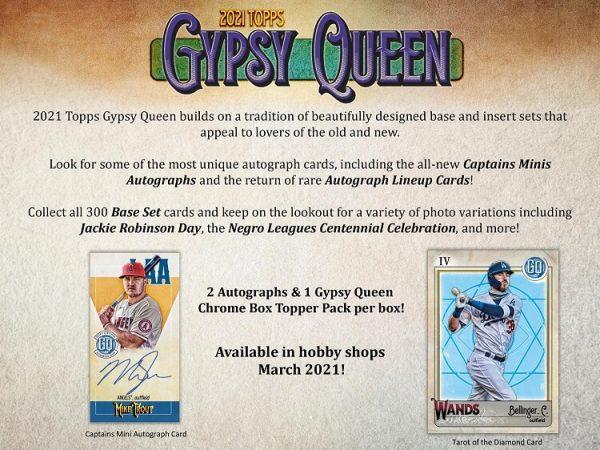 2021 Topps Gypsy Queen Hobby Baseball Box