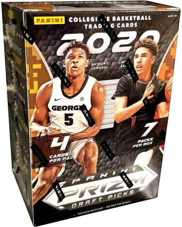 2020-21 Panini Draft Picks Collegiate Basketball Blaster Box
