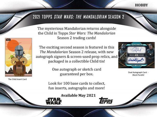 2021 Topps Star Wars Mandalorian Season 2 Hobby Box