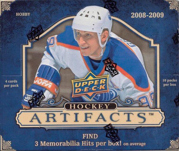 2008-09 Upper Deck Artifacts Hockey Hobby Box