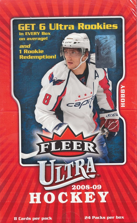 2008-09 Upper Deck Fleer Ultra Hockey Hobby Box