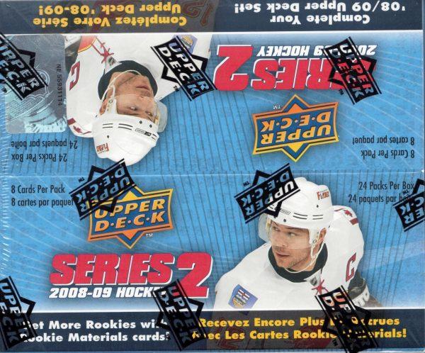 2008-09 Upper Deck Series 2 Hockey Retail Box