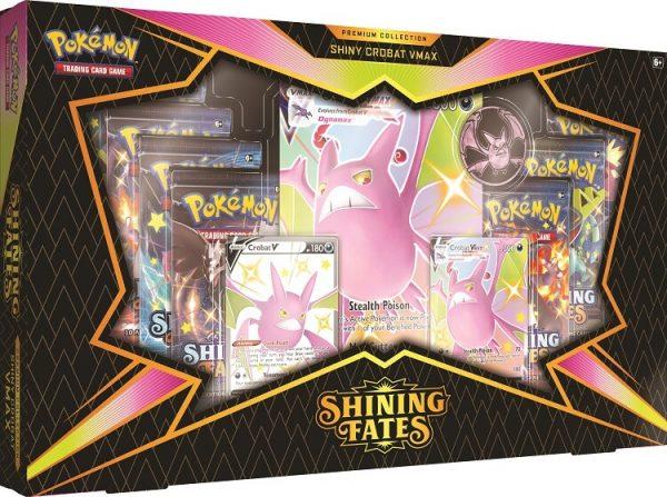 Pokemon Shining Fates Premium Collection - Crobat V