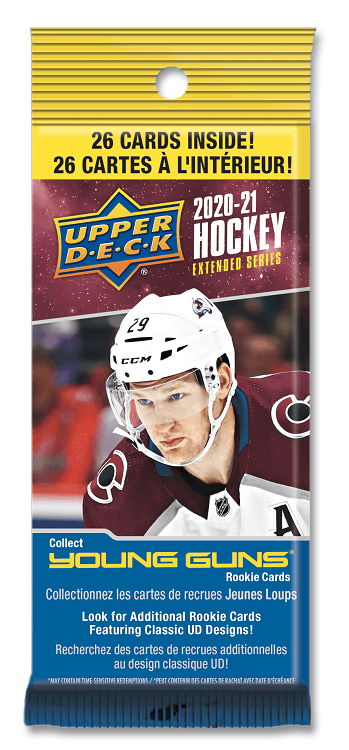 2020-21 Upper Deck Extended Hockey Fat Pack Box