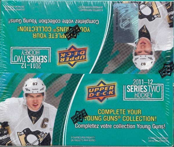 2011-12 Upper Deck Series 2 Hockey Retail Box